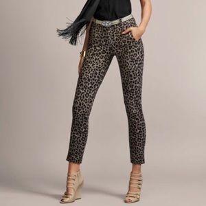 Cabi 3393 Jungle Trouser Leopard Print Pants 4